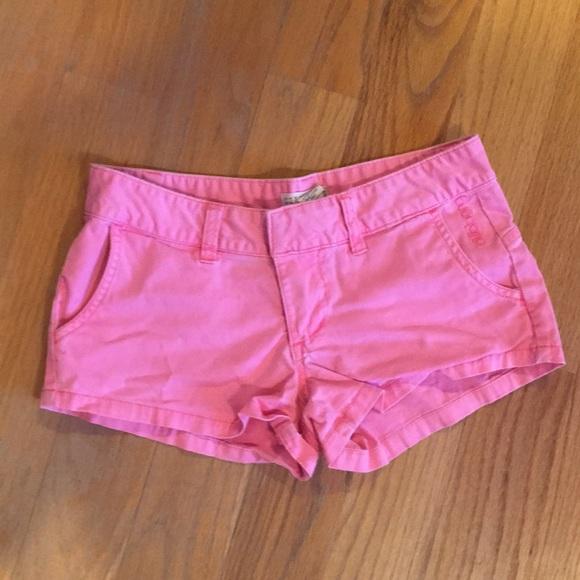 Billabong Pants - Pink billabong shorts